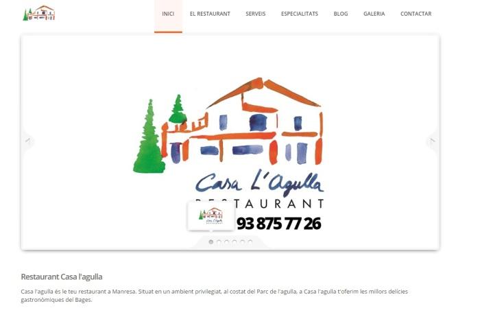 Lloc web de Casa l'Agulla